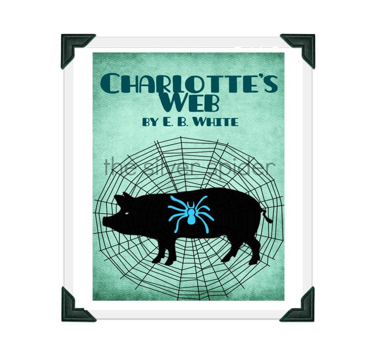 Printable Charlotte S Web Book Cover : Best reimagined book covers and movie posters images on