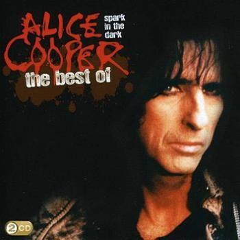 """L'album di #AliceCooper intitolato """"Spark in the dark: The best of Alice Cooper"""" su doppio CD."""