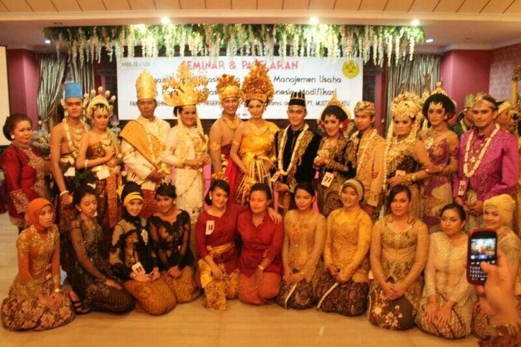 Pagelaran Tata Rias Pengantin Indonesia Modifikasi 2013