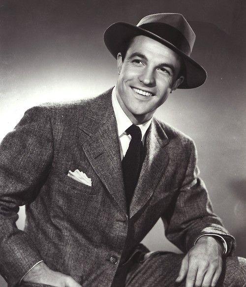 Gene Kelly. I really wish men still dressed like this. My favorite men's fashion.