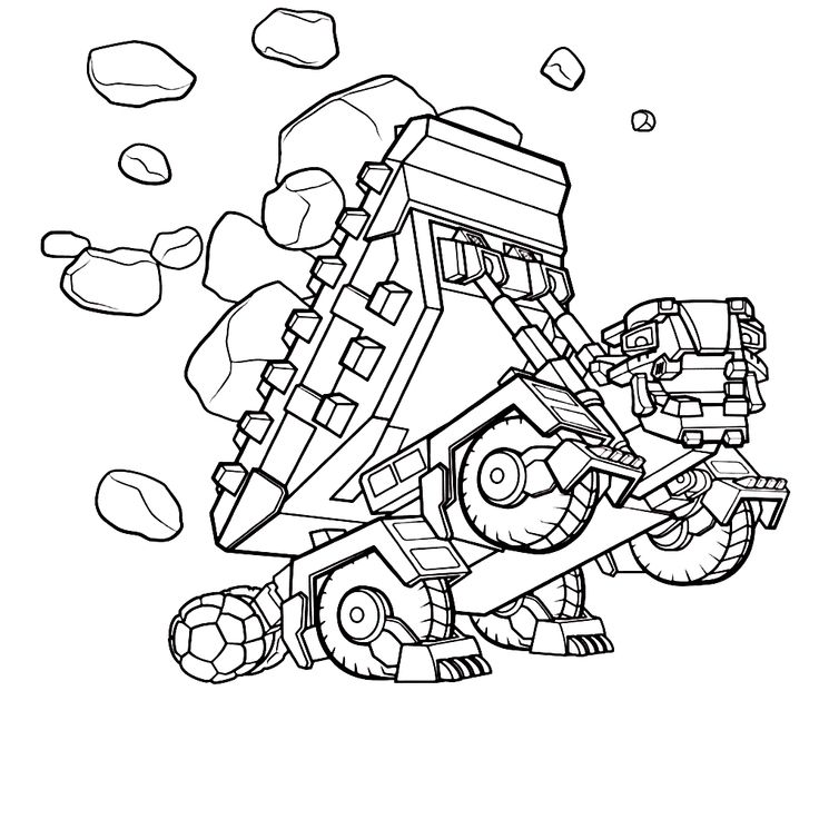 689 best images about kleurplaten on pinterest for Dinotrux coloring pages