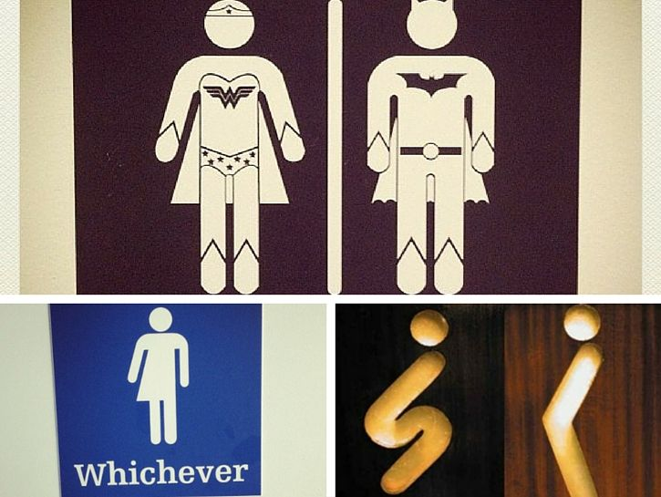 25+ Best Ideas About Gender Neutral Bathroom Signs On