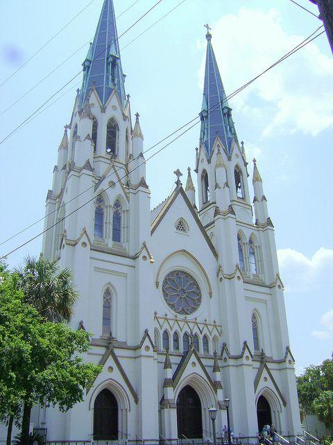 Cathedral of St John the Baptist; Savannah, Georgia