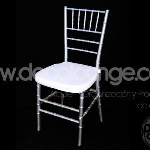 Silla tiffany-transparente in Mexico and Latin-America. Chiavari Chair in USA