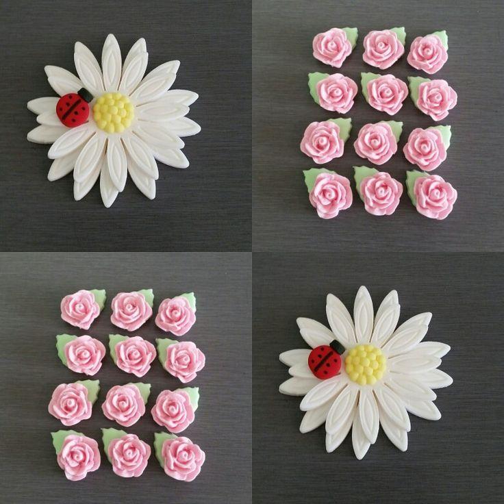 Edible Flower Decorations