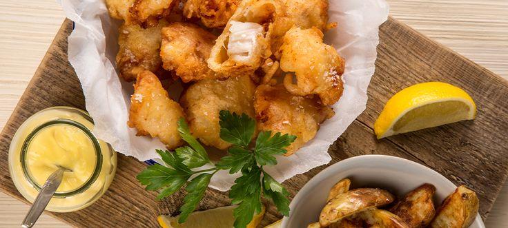 Al Fresco Cod Cheeks in Crispy Batter Recipe - Sarson's