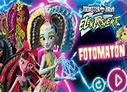 Monster High Electrificadas Photobooth [Juego Oficial]