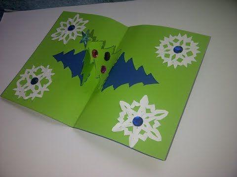 cmo hacer tarjetas de navidad con un rbol en d como fazer um carto pop