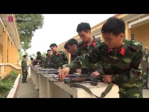 Cuộc sống quân ngũ của giới trẻ