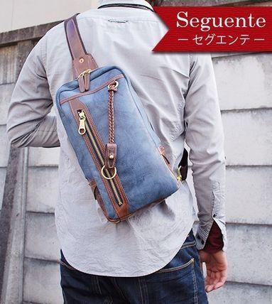 信頼の日本ブランド セグエンテ ボディーバッグ  KFN7001S