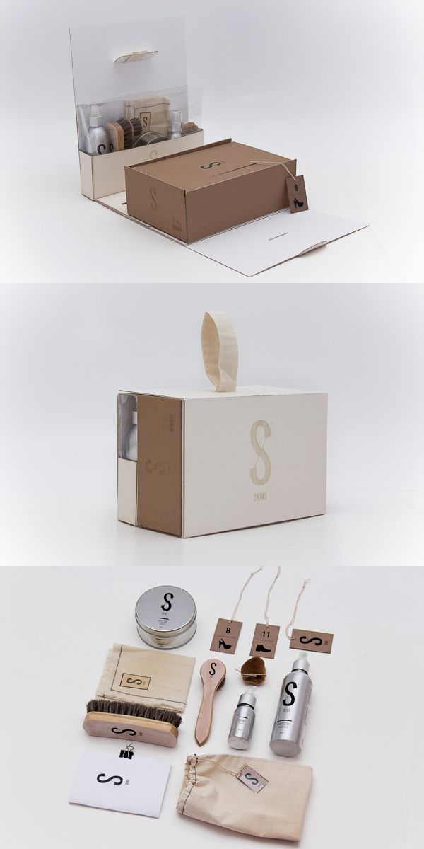 DESIGN INSPIRATION - Example of super cool packaging.