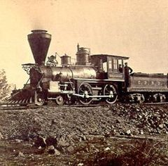 First Transcontinental Railroad-also person pinned from has a lot of research on the history of railroads