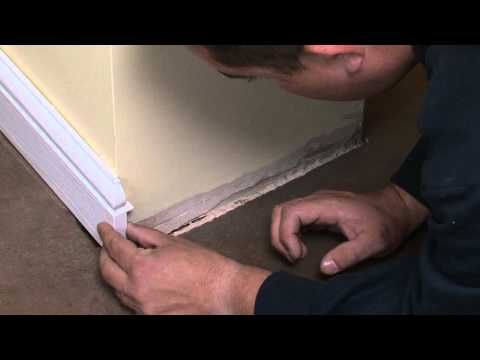 How to install Eurocell's Roomline UPVC Skirting Boards & Architrave. http://www.eurocell.co.uk/homeowners/56/internal-products