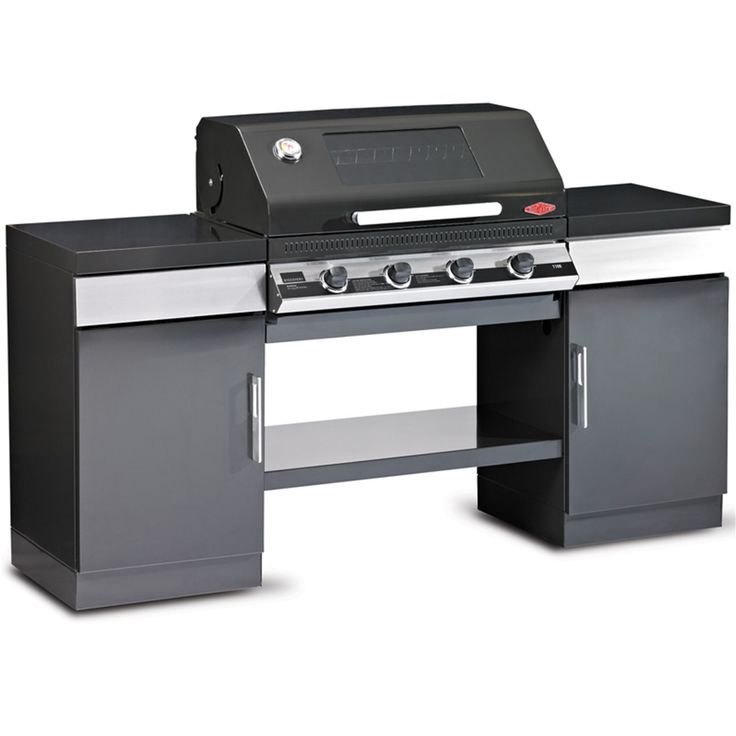 The Beefeater Discovery Plus 4 Burner Outdoor Kitchen BBQ gives you all the flash of an artisan BBQ with a more appealing price tag. With 4 high power cast iron burners, a 400mm griddle plate and a 400m grill this is a premier Beefeater item.