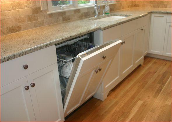 Wood Panel On Dishwasher Photos