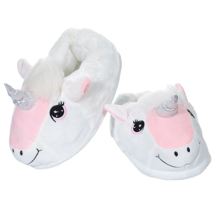 Adults Unicorn Pair of Unisex Slippers