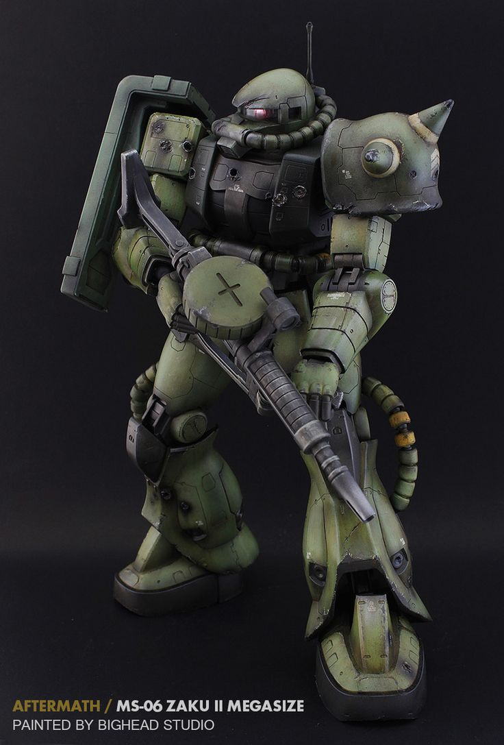"""Aftermath"" Zaku II"
