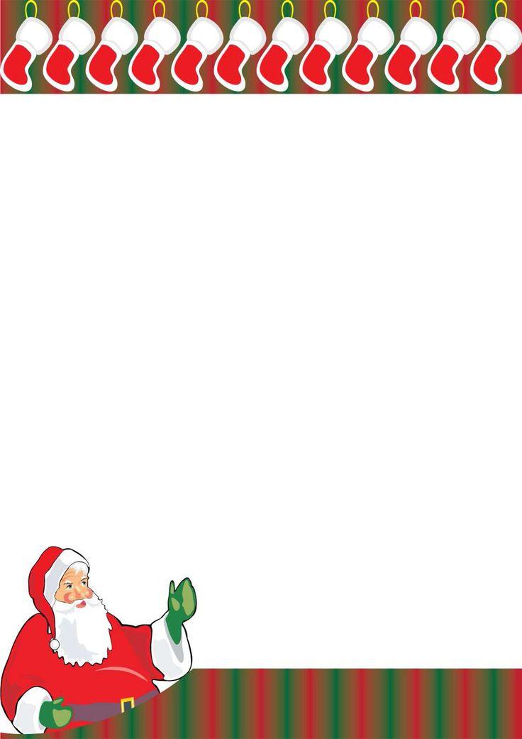 Lettera a Babbo Natale versione 14 da stampare gratis