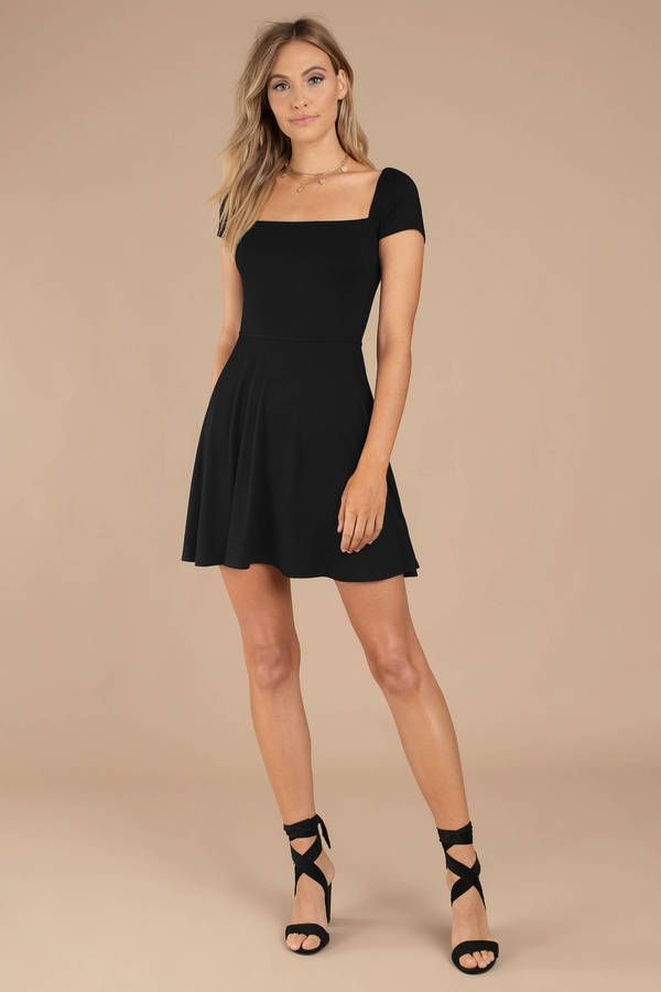 55d5f4d69c1 Looking for the Kia Black Skater Dress? | Find Skater Dresses and more at  Tobi! - 50% Off Your First Order #shoptobi