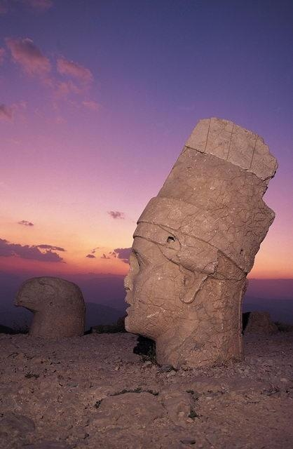 Nemrut, Turkey.I would love to go see this place one day.Please check out my website thanks. www.photopix.co.nz