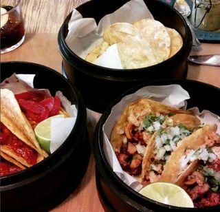 restaurante mexicano en Madrid y se llama La Chelinda Ponzano