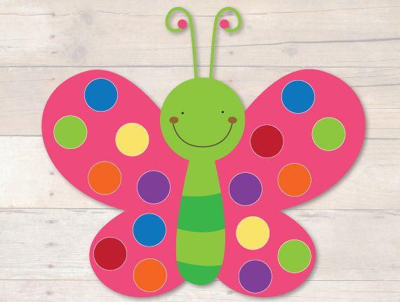 Butterfly Pom Pom Mats by Busy Little Bugs