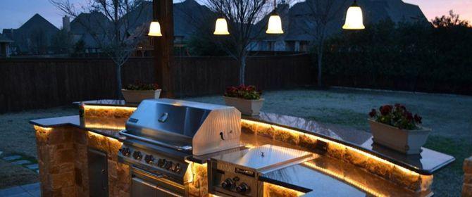 Outdoor Kitchen Countertop Accent Lighting Outdoor Kitchen Outdoor Kitchen Lighting Outdoor Kitchen Design