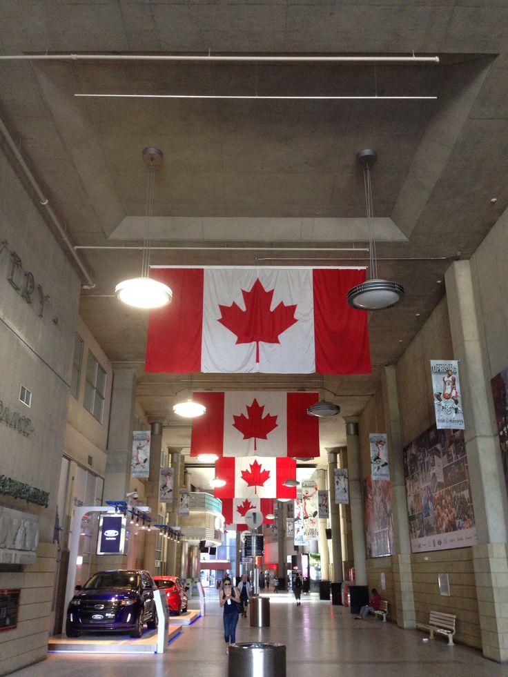 Air Canada Centre - Bay St entrance. #toronto