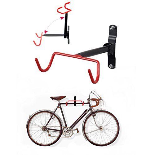Homee Bike Hanger Wall Mount Bicycle Rack Wall Hook Flip Up Bike