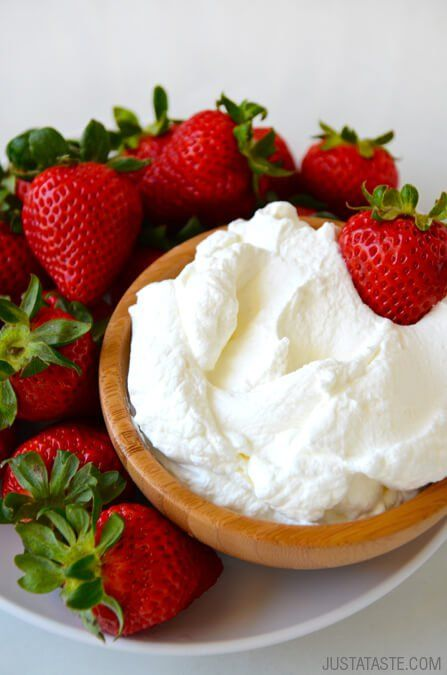 Video: Secret Ingredient Homemade Whipped Cream | recipe via justataste.com