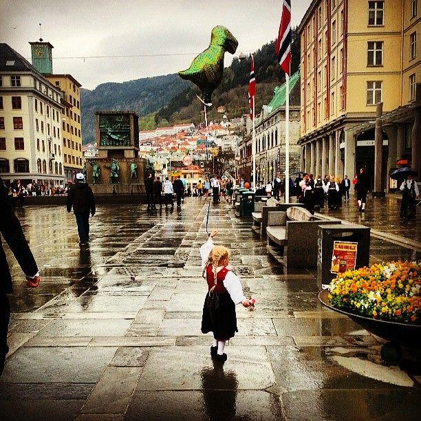 Torgallmenningen em Bergen, Hordaland