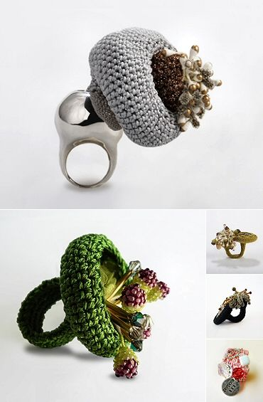 TheCarrotbox.com modern jewellery blog : obsessed with rings // feed your fingers!: Xiao Chuan Zhang / Su Kroker