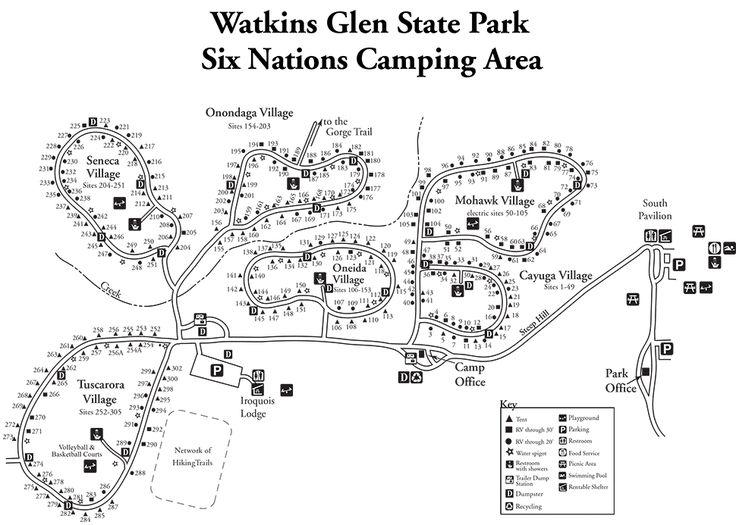 Watkins Glen Campsite Photo Database
