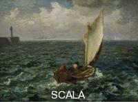 Millet, Jean Francois (1814-1875) Barca da pesca, 1871