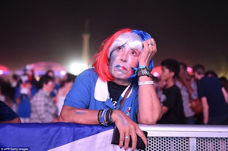 For the French fans it was dejection after they watched their side lose on home soil at th...