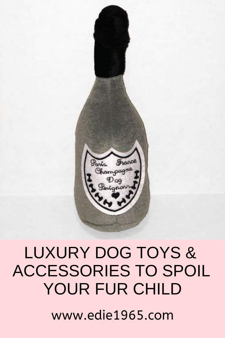 Dog Perignonn Champagne Bottle Large Plush Toy Small Dog Toys