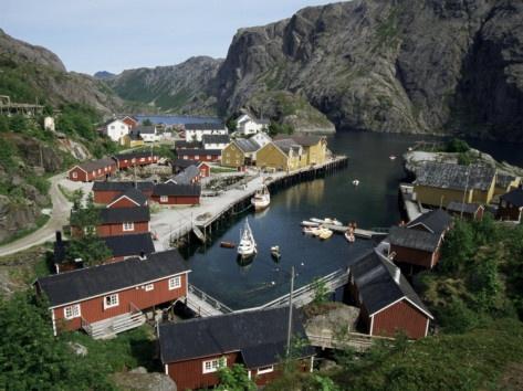 Nusfjord - Lofoten-islands - Norway