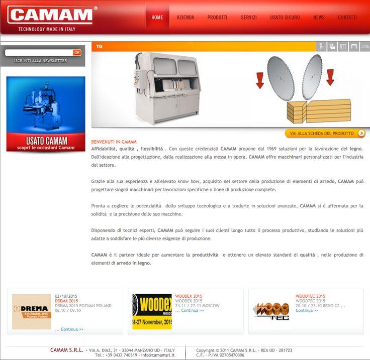 website copy customer: camam, wood processing services