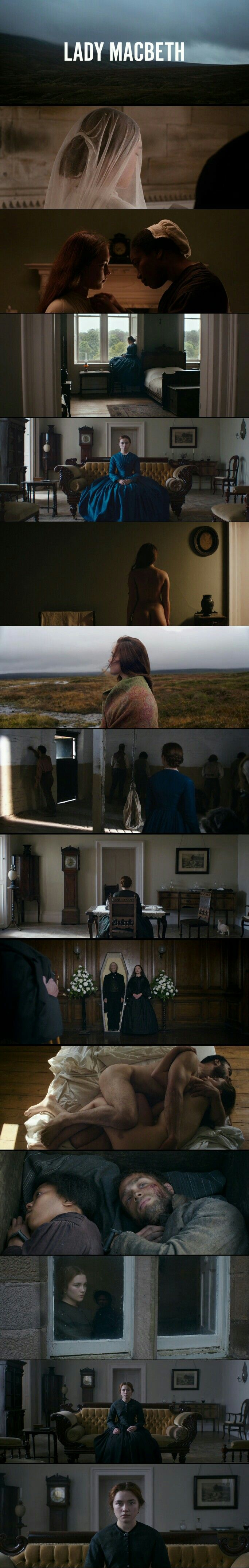Power hungry, Desire, Love Affair and Intensity. Movie:[Lady Macbeth (2017)]