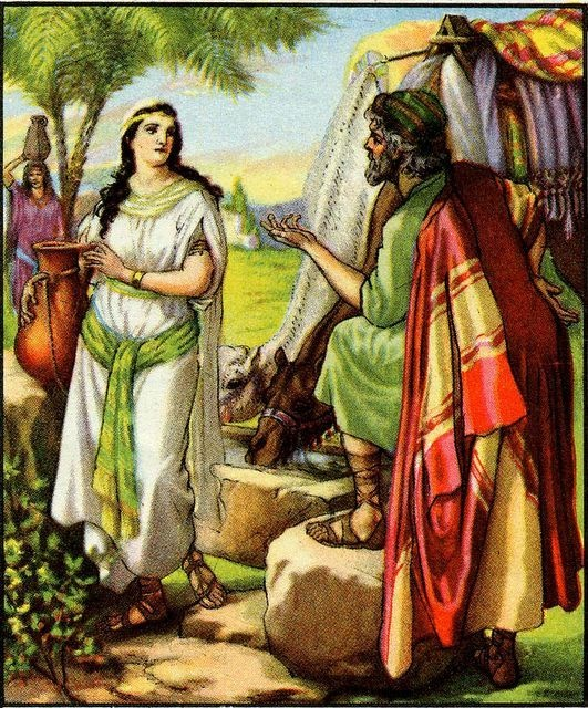 Abraham S Servant Finds Rebekah Genesis 24 10 51