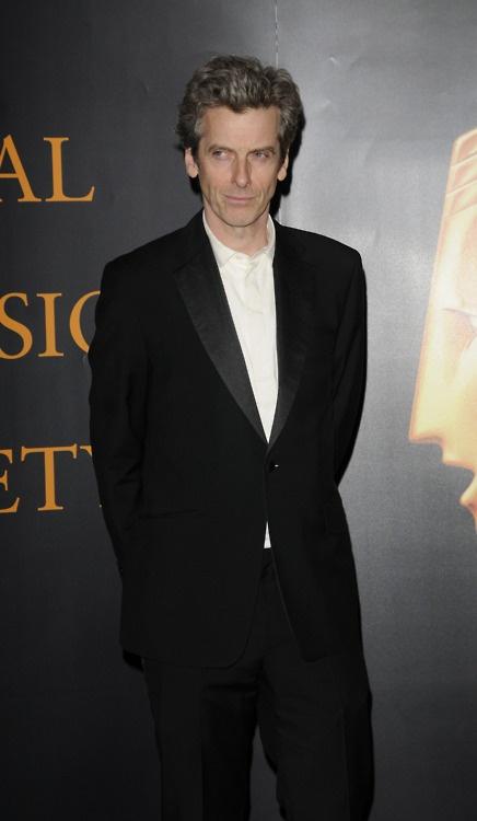 Peter Capaldi looking fierce.
