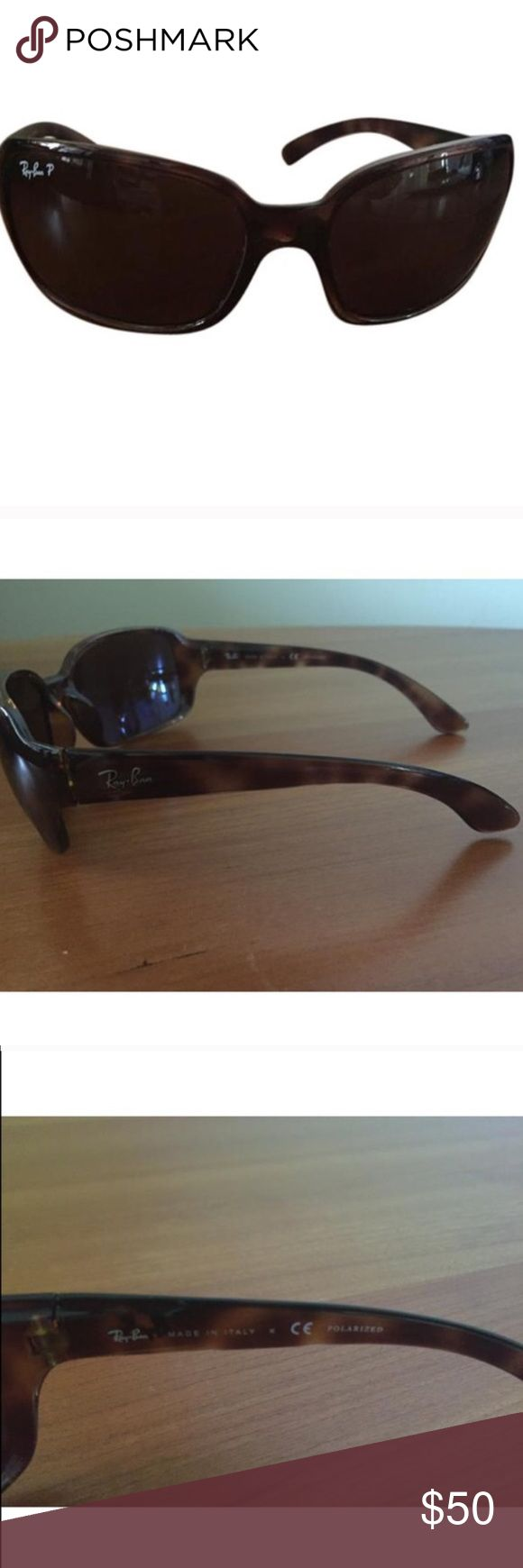 Ray-Ban Jackie Oh Sunglasses Polarized Ray-Ban Jackie Oh Sunglasses Polarized w/ tortoiseshell frame- super cute and in great condition! Too many pairs of Ray-Bans ... my loss is your gain! Ray-Ban Accessories Sunglasses