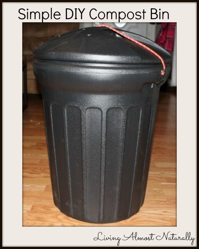 simple diy compost bin