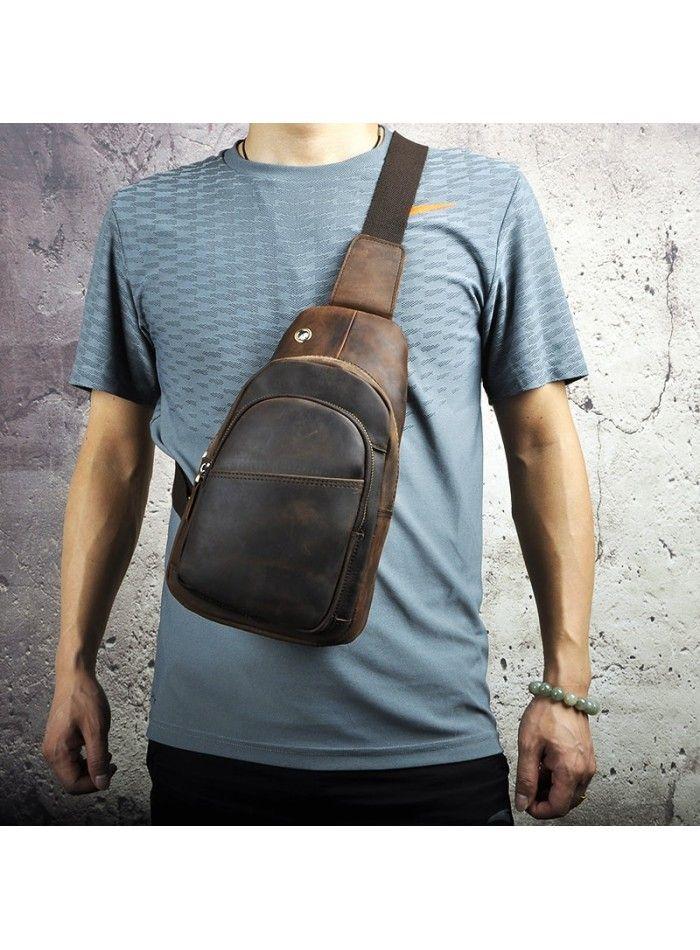 8f98a7a89889 Мужская сумка на плечо Tiding Bag M37-XB8008C Коричневая | Мужская кожаная  сумка планшетка | Bags, Backpacks и Sling backpack