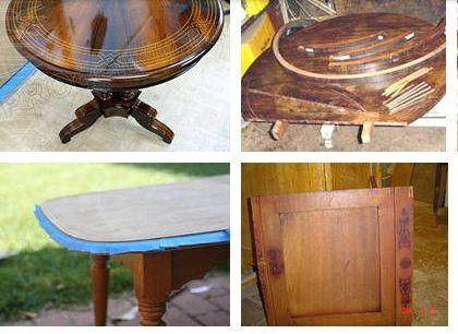Как качественно и правильно отреставрировать и отремонтировать старинный стол. Основные методики и технологии реставрации и ремонта антикварных столов. Восстановление лакокрасочного покрытия деревянных старинных столов - Как сделать полку для цветов самому