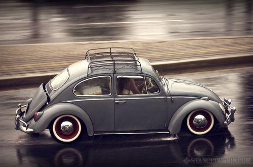 Volkswagen Beetle, Roof Rack - Vintage baby