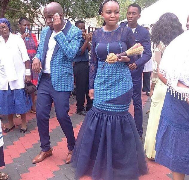 160 best Shweshwe Wedding images on Pinterest | African fashion ...