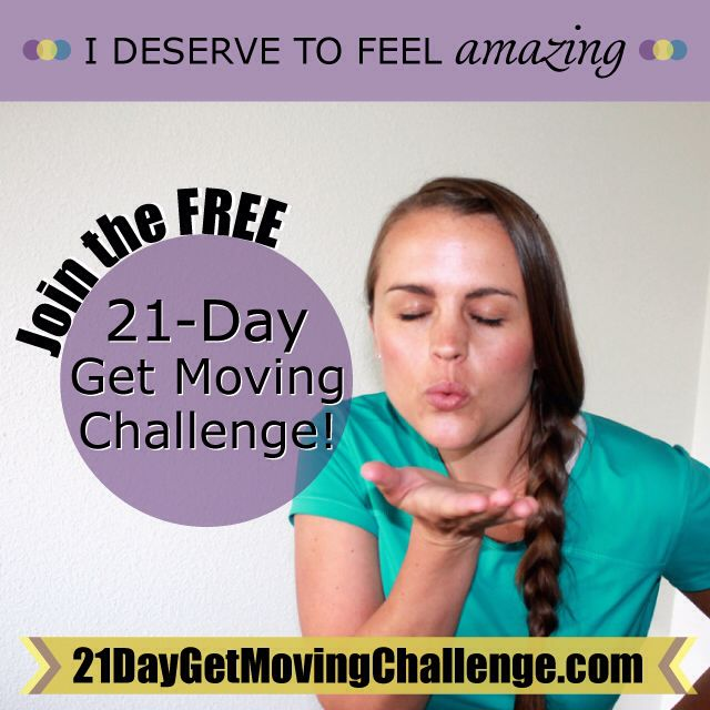 """We start on Monday, you in? Com'on you know your body is *craving* this, and it's FREE -- why not? ›› 21DayGetMovingChallenge.com ‹‹ Look, I know there are A LOT of """"challenges"""" out there, but this challenge has been around since 2011 and I have been molding and perfecting it every year. It just keeps getting better! This is like nothing you've ever participated in, I can guarantee that. But you don't have to take my word for it, check out what other ladies are saying about this free…"""
