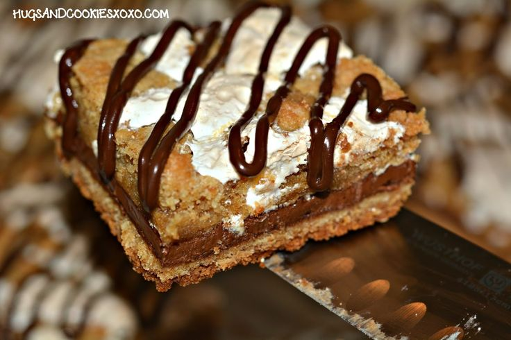 HERSHEY S'MORES BARS…..HEAVENLY