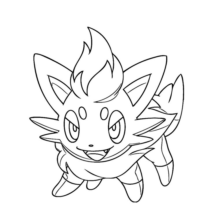 flareon coloring pages printable